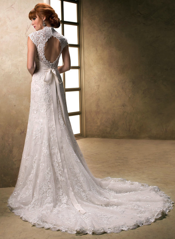 Choose your fashion style 5 wedding dresses trends 2014 for Fitted lace wedding dress with open back