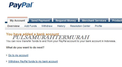 Cara Menambahkan Rekening Bank Payoneer Ke Paypal 8