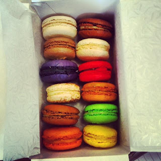 Instagram Photo of a selection of macaroons from Hotel Macaroon