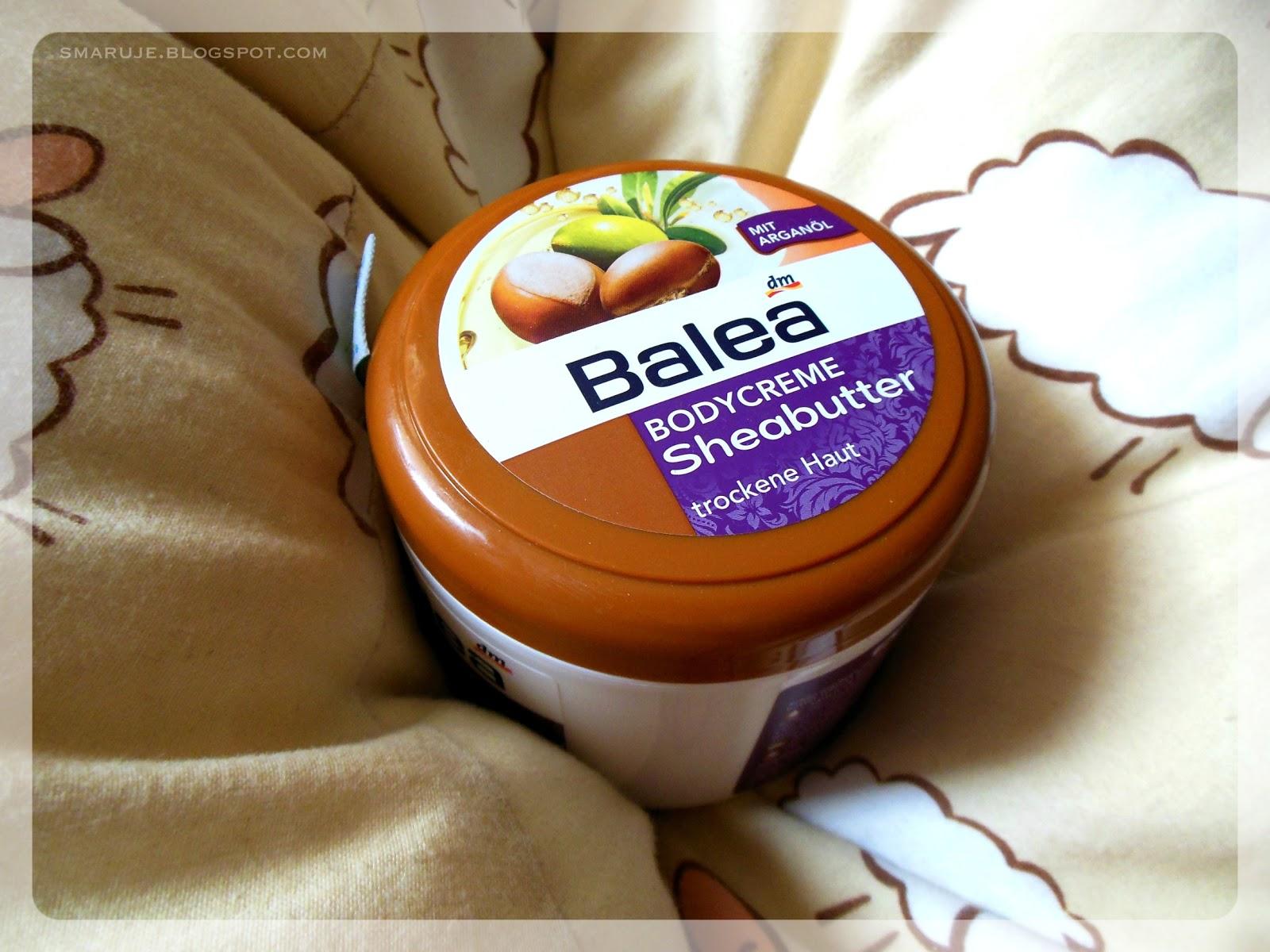 Konkurent kakaowej Isany: Balea – Sheabutter Bodycreme z olejem arganowym [recenzja]