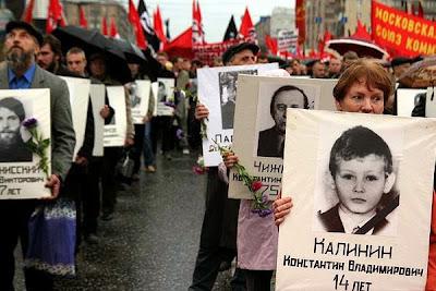 Víctimas golpe 1993 Moscú