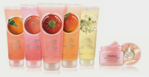 Línea Sorbet The Body Shop