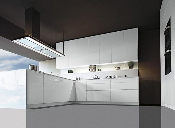 Ih Desain Dapur Sederhana Berwarna Putih Mengkilap di halaman film ...