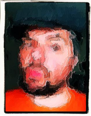 Robin Lee Selfie Portrait