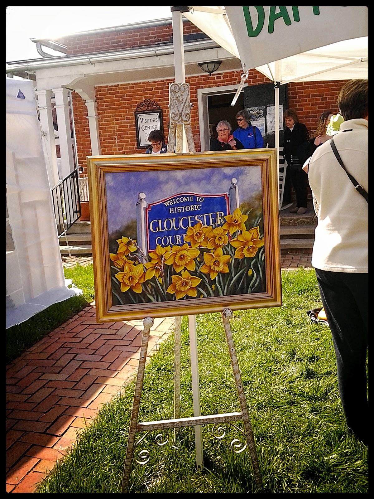 Gloucester Daffodil Festival Poster 2014
