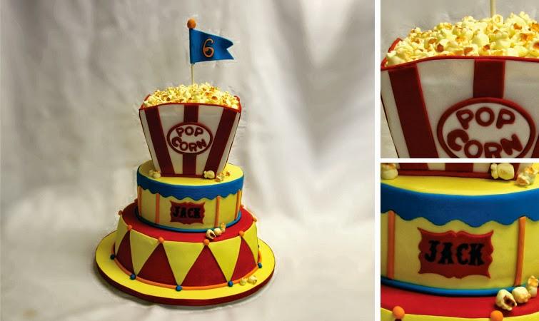 Confectionary Designs Carnival Birthday Cake Nj Custom Cake Bakery