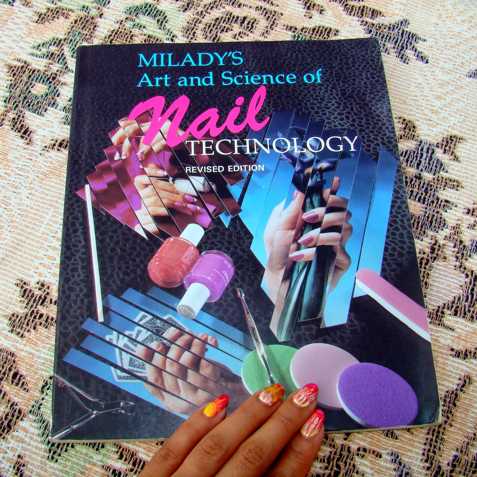 Pretty Nails and Tea: Milady\'s Art and Science of Nail Technology ...