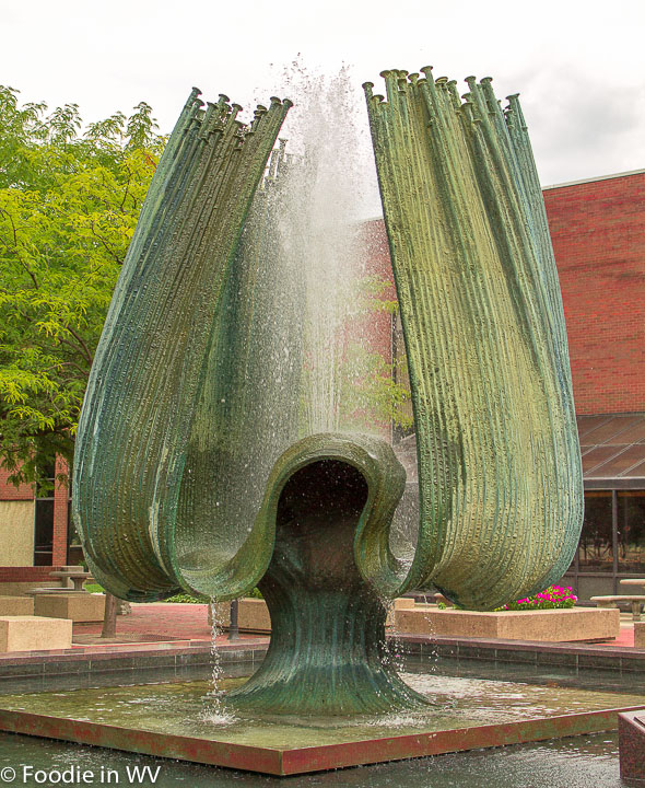 Memorial Fountain Marshall University Huntington, WV