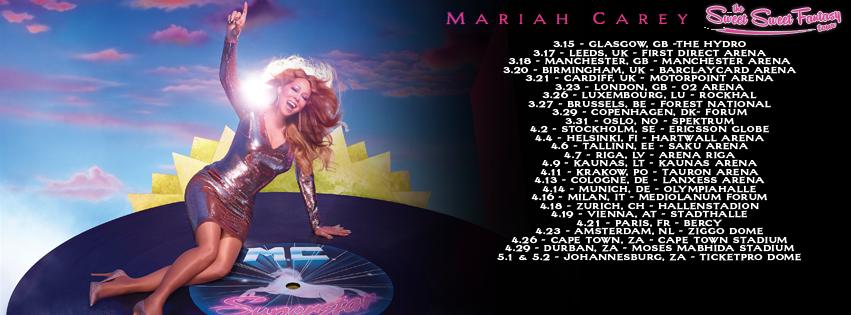 Gira mundial de Mariah Carey en 2016
