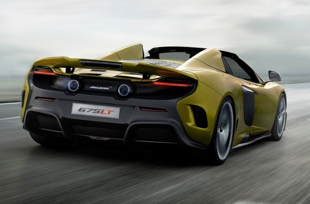 2017 McLaren 675LT Spider Release Date and Top Speed