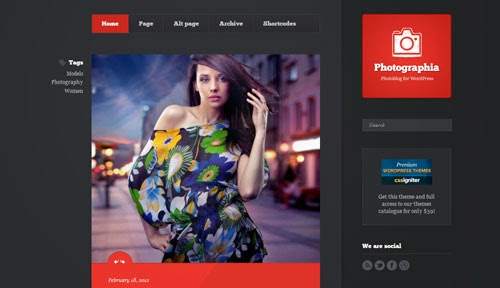 Photographia Cssigniter Wordpress Theme Version 1.1 free