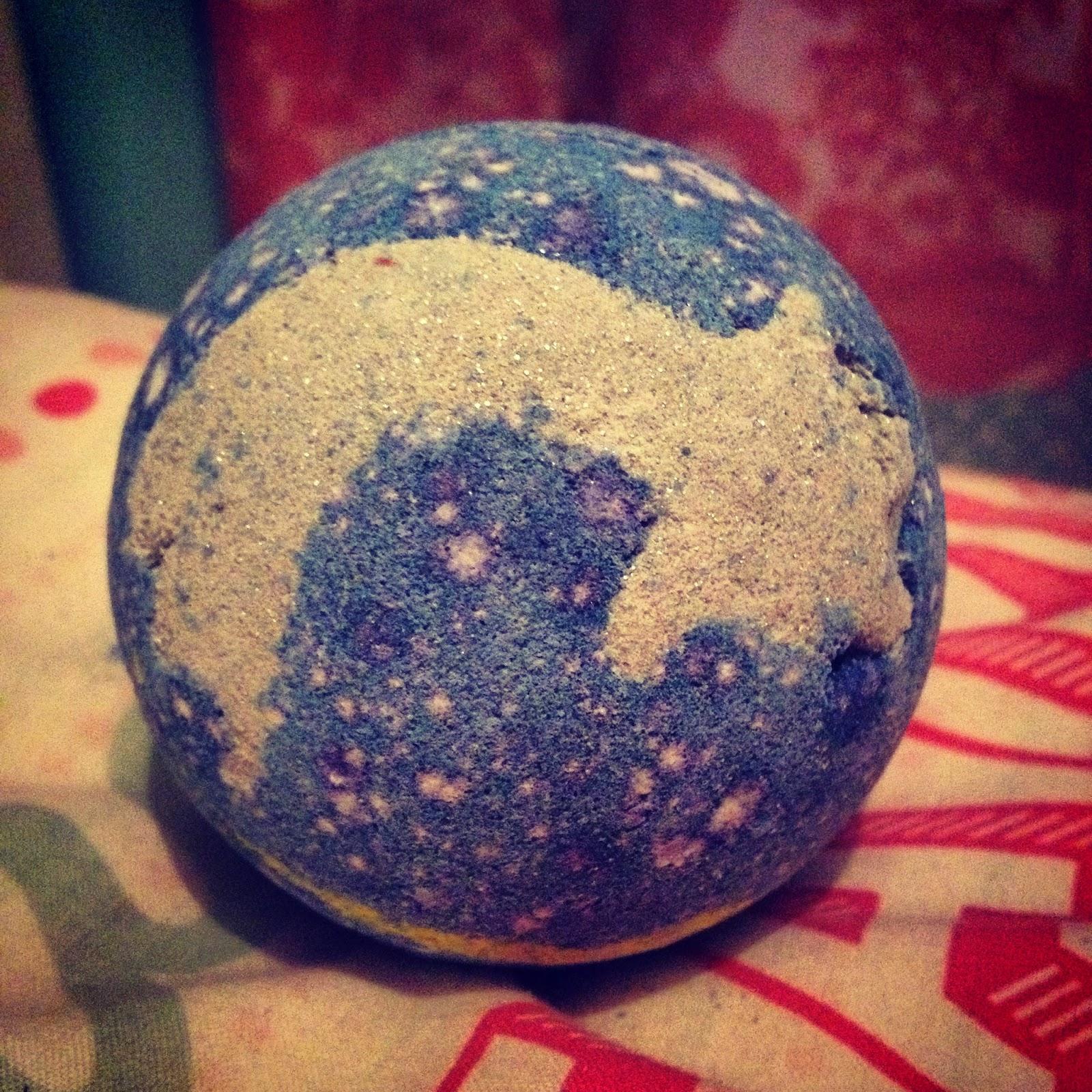 lush shoot for the stars bath bomb 7 oz authentic new