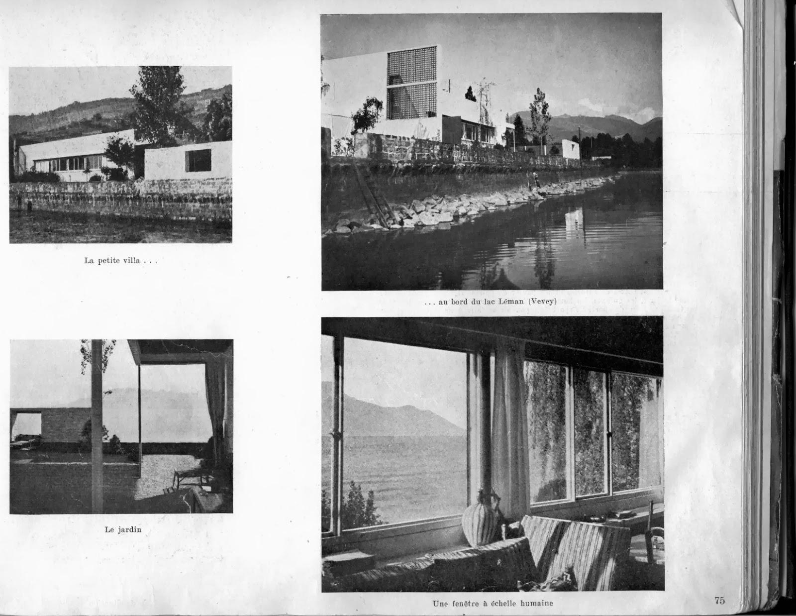 Historia de la arquitectura moderna villa le lac - Casas de le corbusier ...