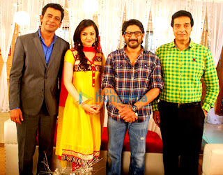 Arshad Warsi promotes 'Jolly L.L.B.' on the sets of 'Safar Filmy Comedy Ka'