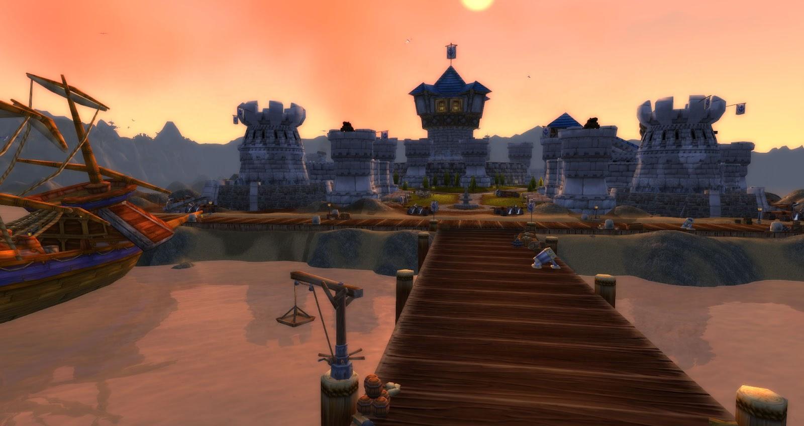 Theramore Isle Docks Theramore Isle Recon