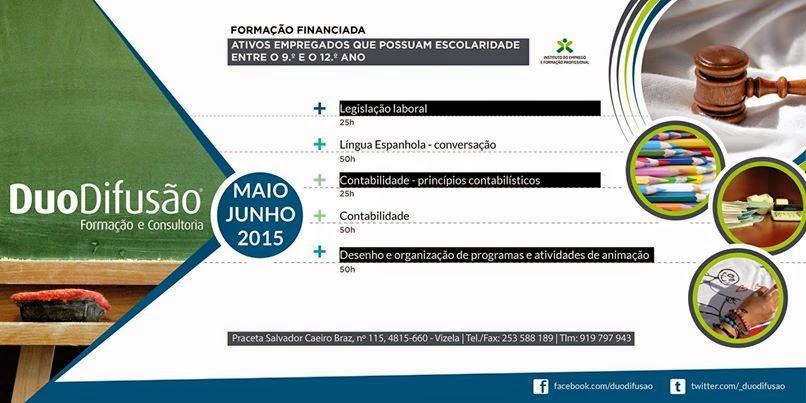 Formação financiada para empregados/as – Vizela