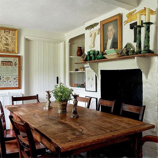 Muebles y Decoración de Interiores: Modelos de mesas rústicas para ...