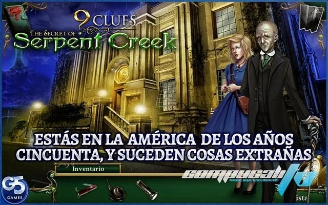 9 Clues The Secret of Serpent Creek PC Full Español