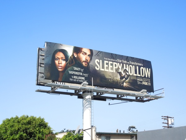 Sleepy Hollow series premiere TV remake billboard