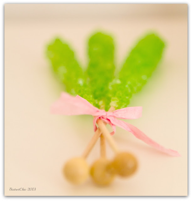 Spring in a rainy day party favours from BistrotChic