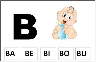 fichas silabicas para sala de aula