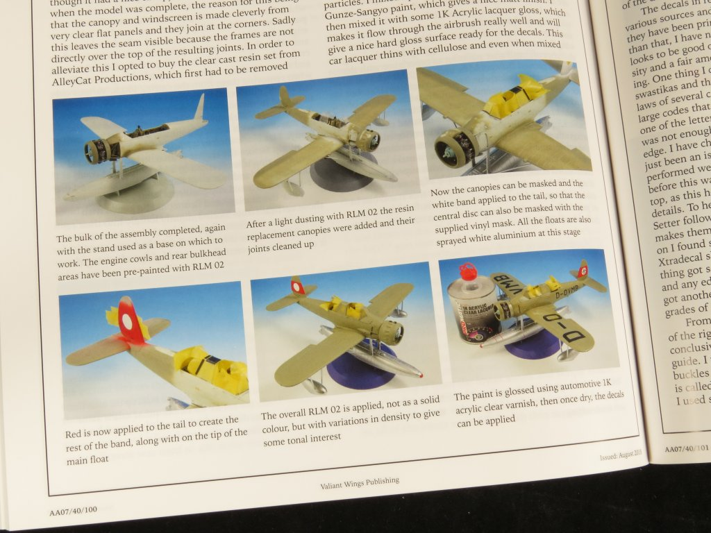 The modelling news read n reviewed the arado ar 196 a the very final pages of the book provide modellers with a shopping list of the kits aftermarket accessories and even other publications relating to the ar nvjuhfo Choice Image