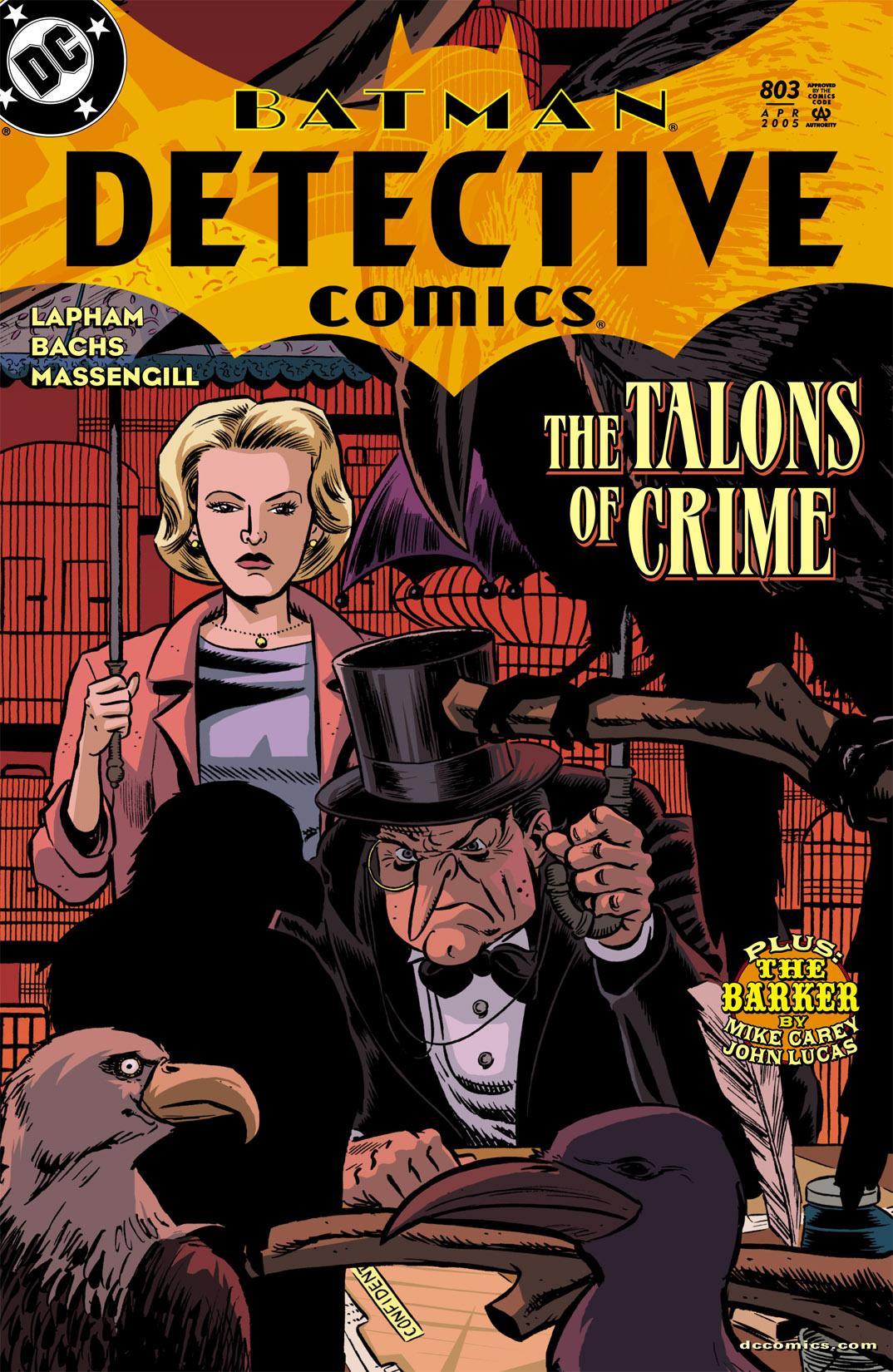 Detective Comics (1937) 803 Page 1