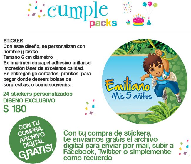 Tarjetas de cumpleaños de diego go para imprimir - Imagui