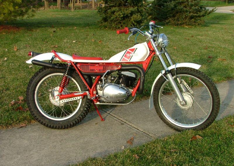 1974 yamaha ty 250 trials bike classic and vintage for Yamaha trials bike