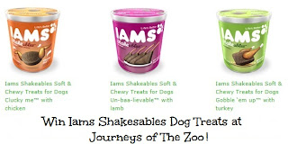 Iams Shakeables Treats Giveaway Prize