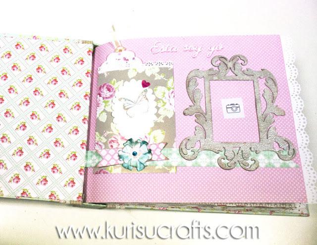 Álbum de comunión personalizado Kurisu Crafts