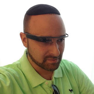 Hillel Fuld has been an early embracer of Google Glass