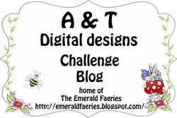 A & T Digital Designs Home of The Emerald Faerie Garden digi Stamps