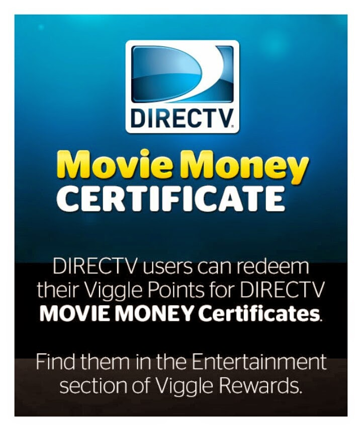 DirecTV, Viggle, Viggle Points, Viggle Gift Certificate, Viggle Mom
