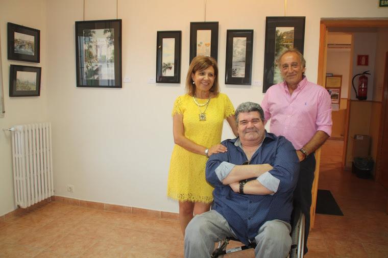 el cantante pablo Abraira y el humorista mariano mariano en Nava