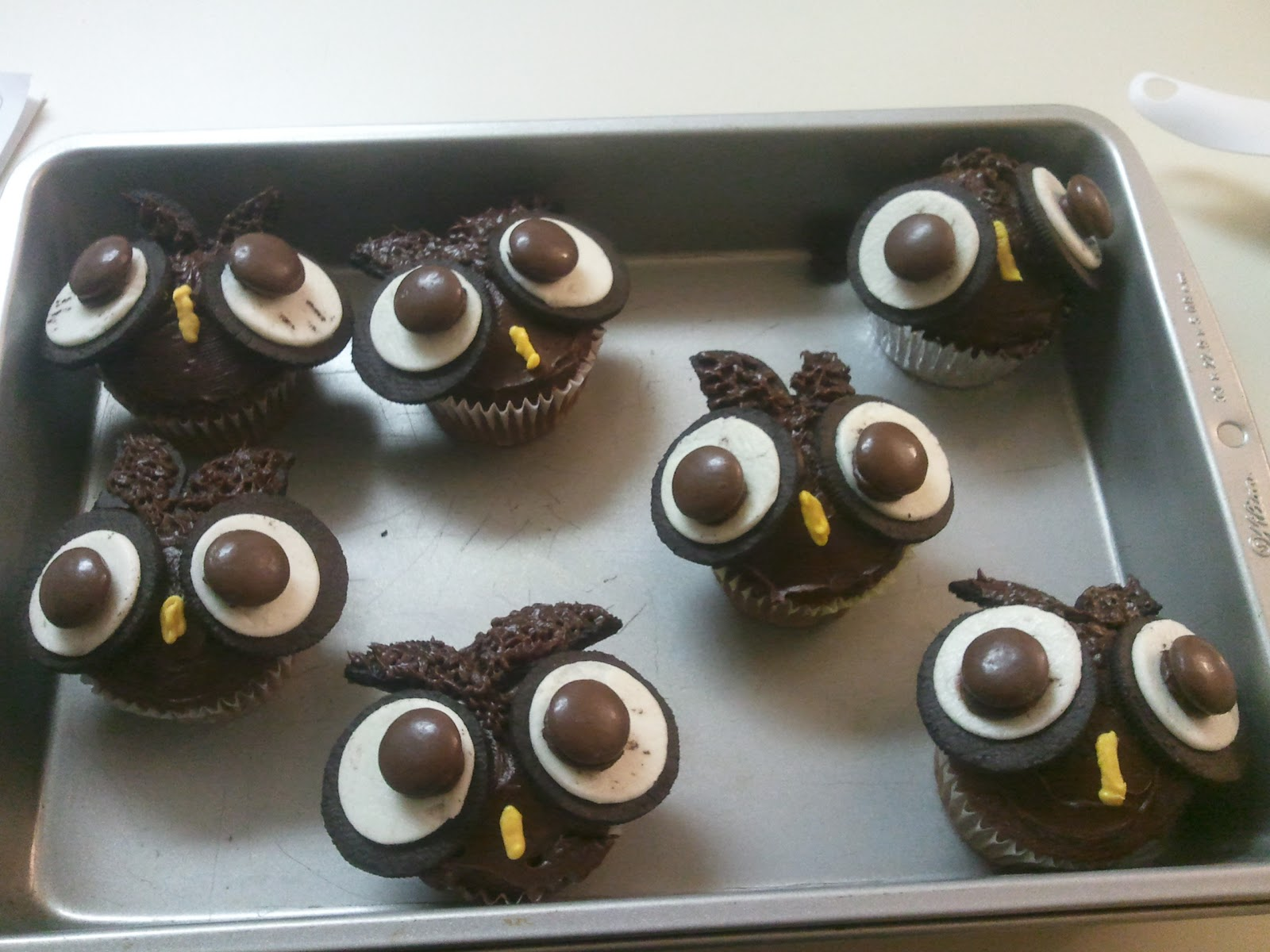 Cookie Monster Cupcakes Owl Cupcakes Former Engineer Current