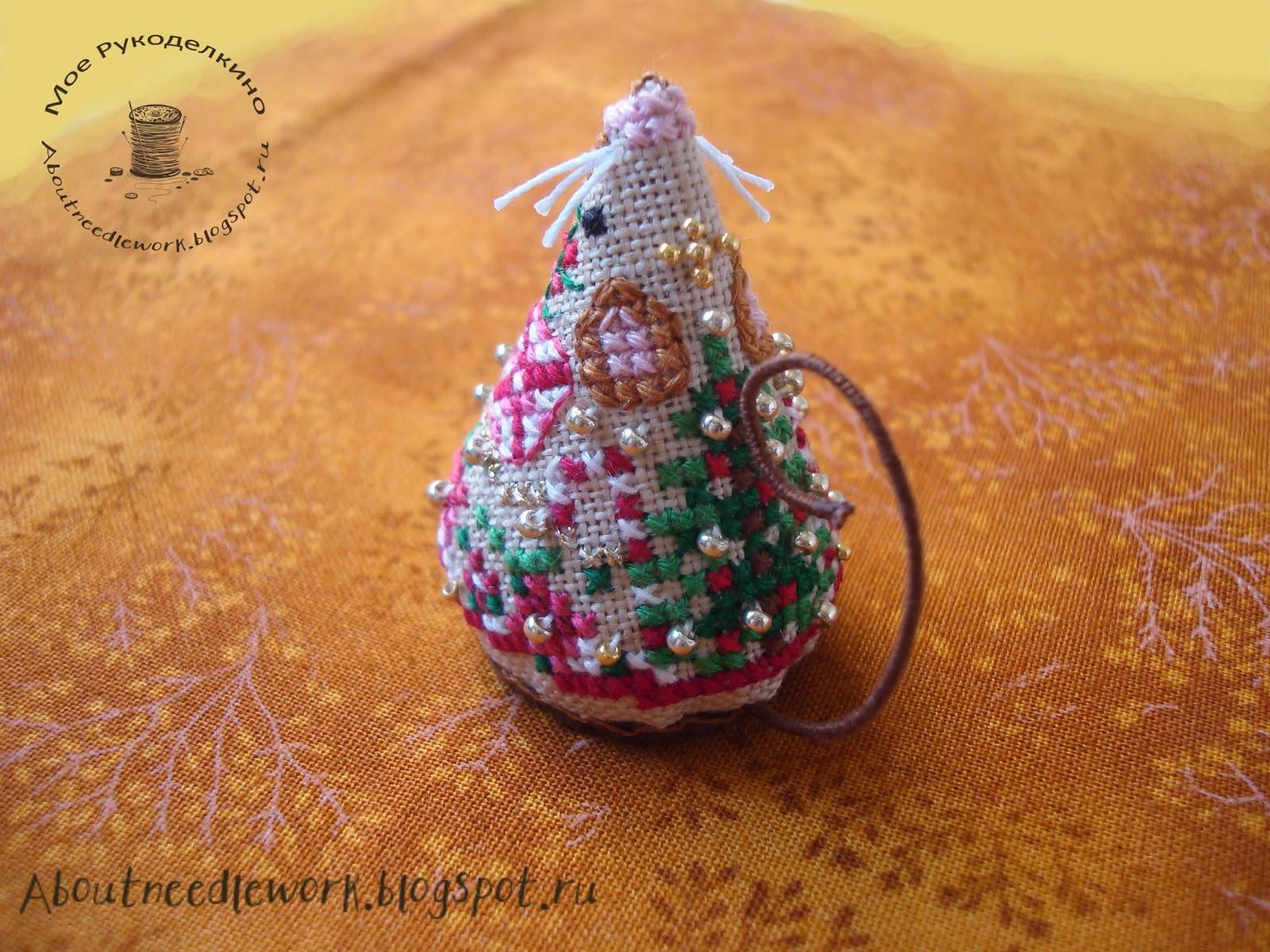 Мышка Gingerbread Mouse (Just Nan)