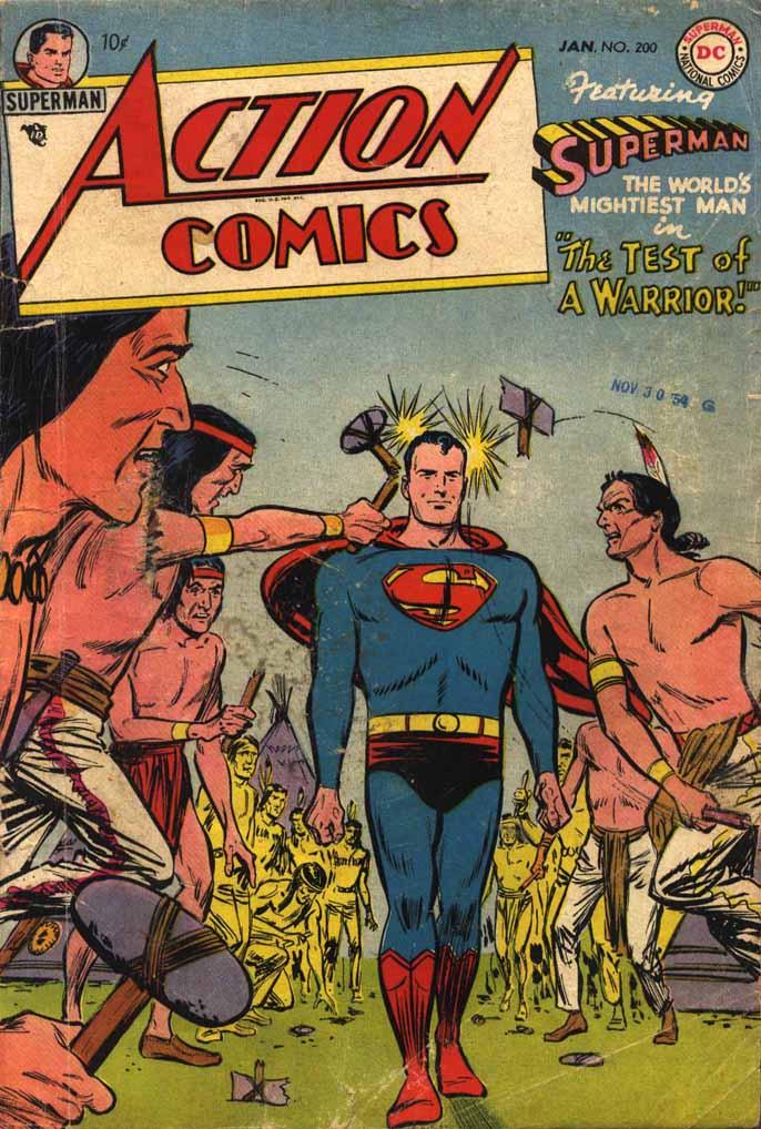 Action Comics (1938) 200 Page 1