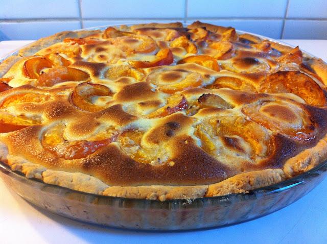 Recette facile de tarte à l'abricot