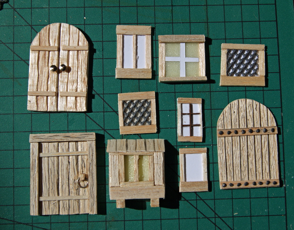Miniature warfare 2 tdmc starting the contrada del for Como hacer una puerta de madera