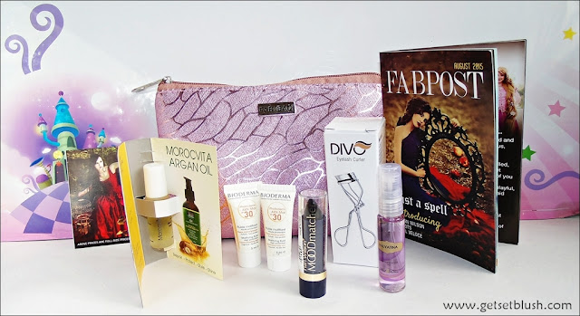 FAB BAG - Cast A Spell - August 2015 - Review