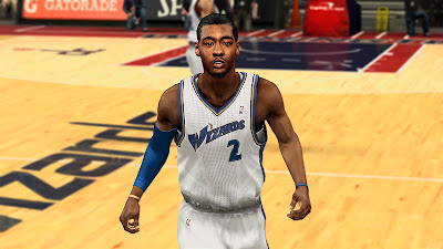 NBA 2K13 John Wall Face Update NBA2K