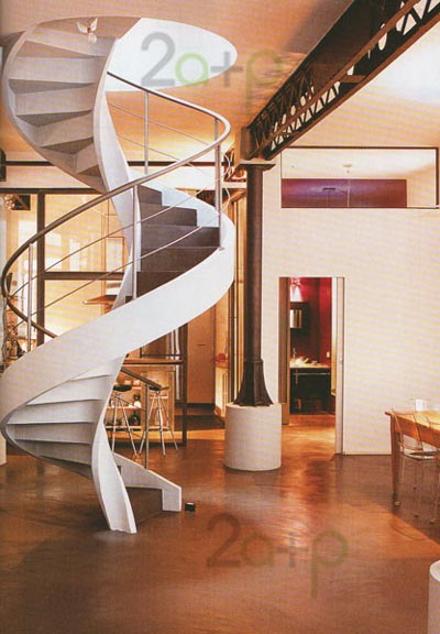 Las ideas de rodi deco escaleras stairs for Escalera caracol 2 pisos