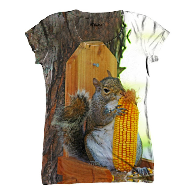 corn squirrel shirt