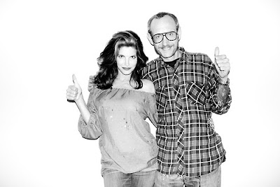 Stephanie Seymour and Terry Richardson