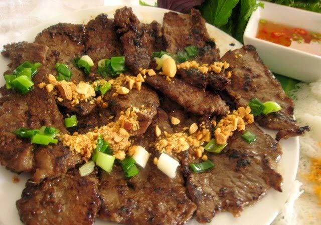 Grilled Beef with Multi Flavor (Bò Nướng Ngũ Vị)3