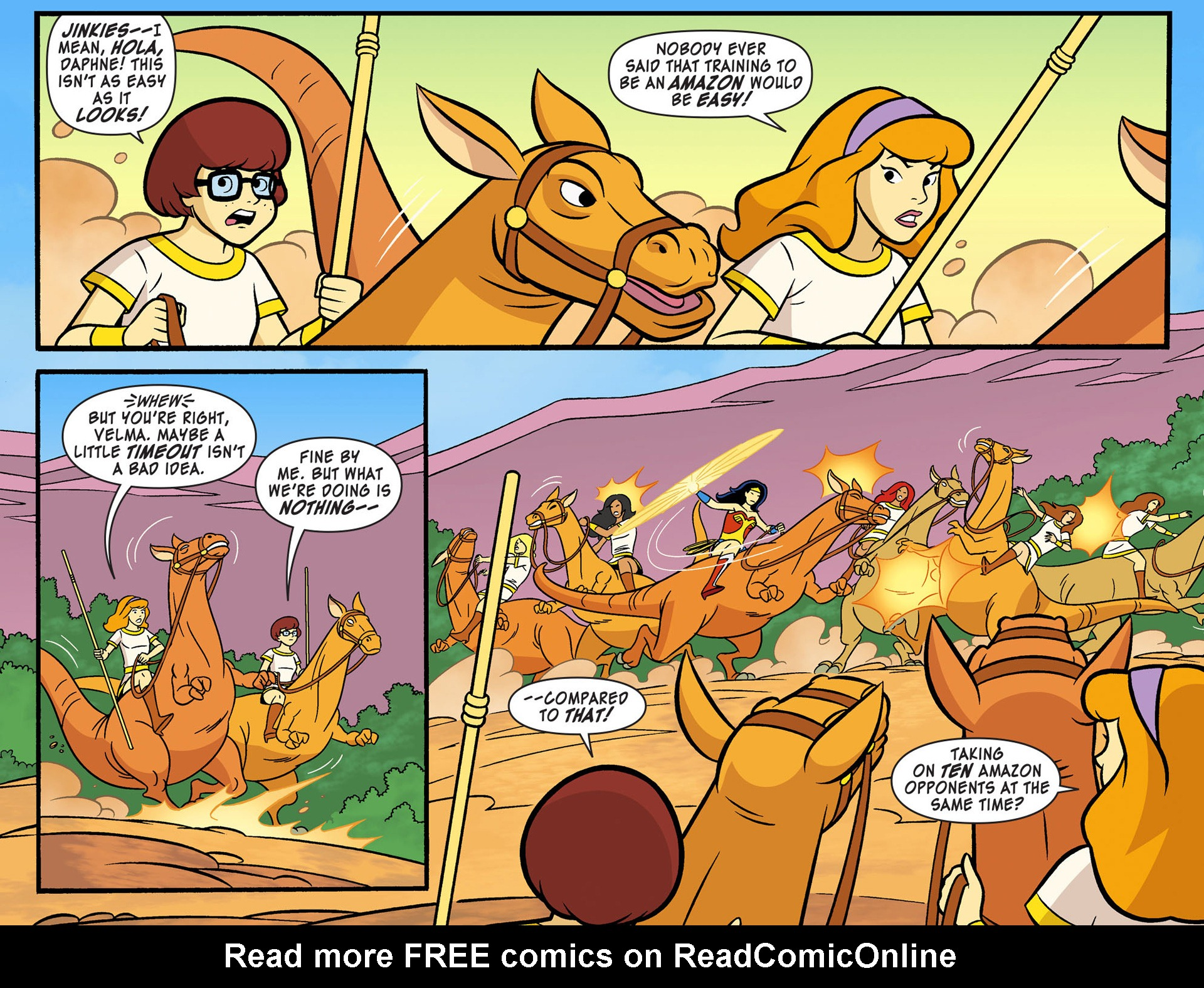 Read online Scooby-Doo! Team-Up comic -  Issue #9 - 4