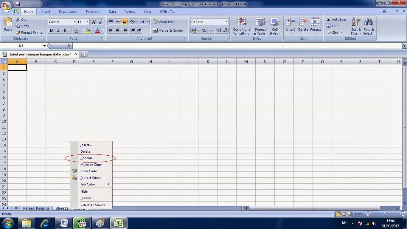 belajar, microsoft, excel, cara, penggunaan, worksheet, adalah, fungsi