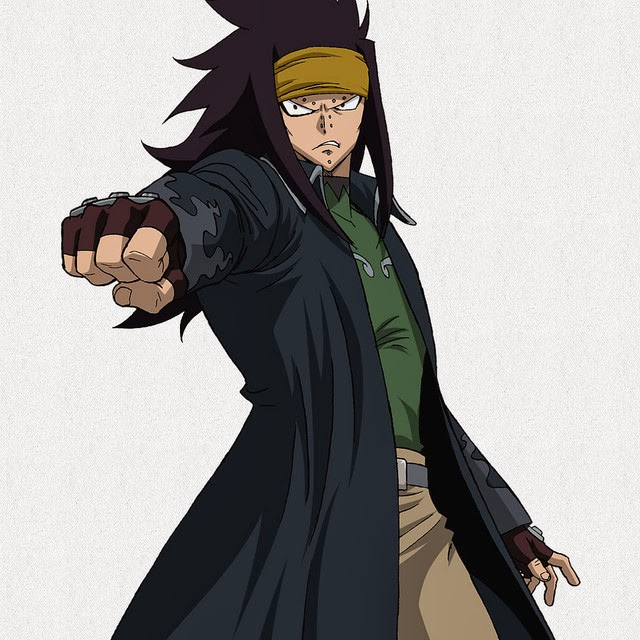 Gajeel Fairy Tail New Character Design and Promotional Video