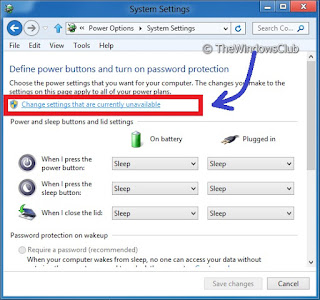 Disable Login Setelah Komputer Sleep Pada Windows 8